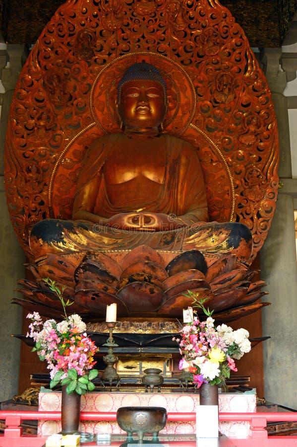 Een standbeeld van Boedha royalty-vrije stock foto's