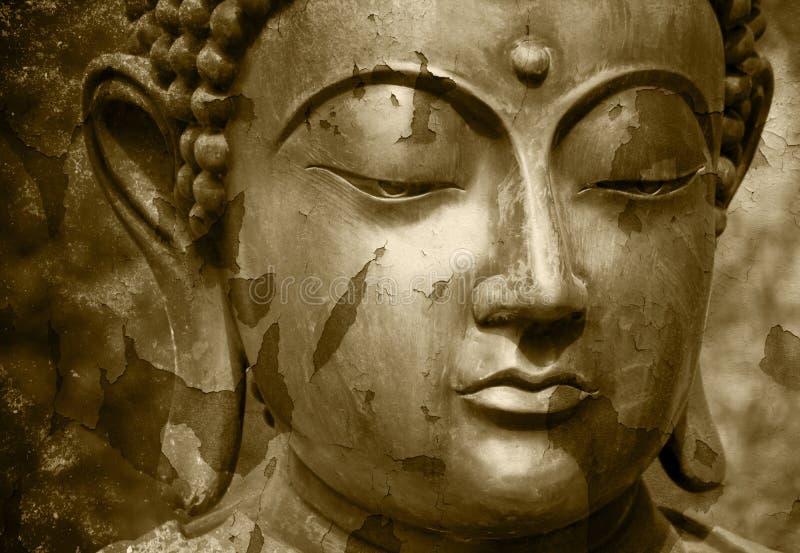 Het standbeeld van Gautama Buddha royalty-vrije stock foto's