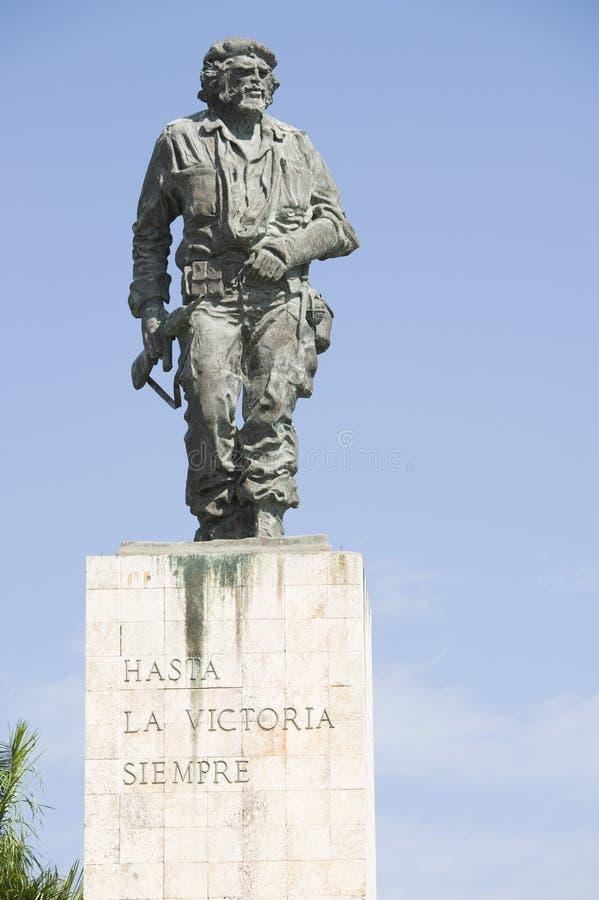 Een standbeeld van revolutionaire held Ernesto Guevara in Cuba royalty-vrije stock afbeeldingen