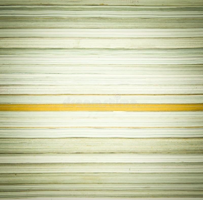 Een stapel van tijdschriften stock fotografie