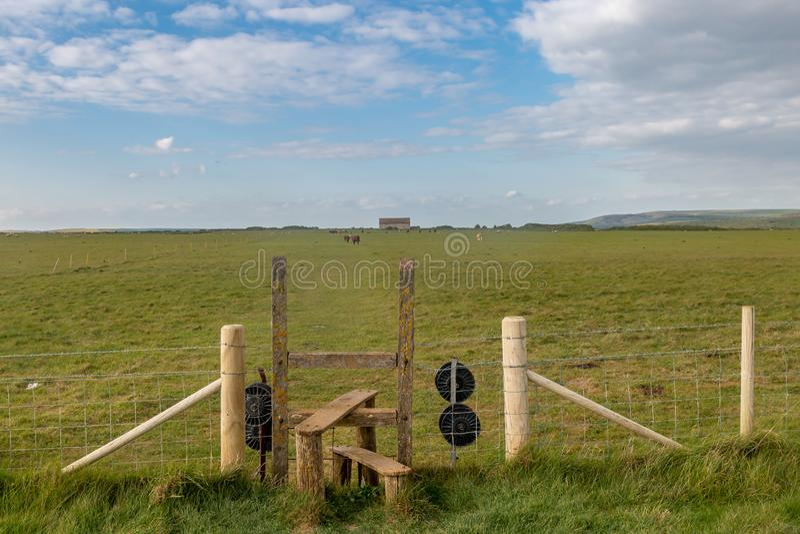 Een Stijl in Landelijk Sussex royalty-vrije stock foto