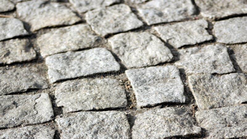 Een Straatsteen die een fragment van een voetgang is royalty-vrije stock foto's