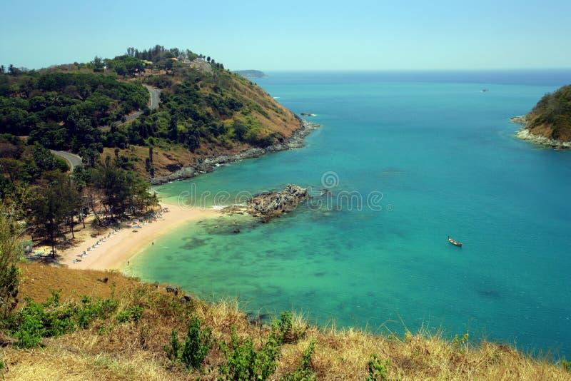 Een strand van Thailand stock fotografie