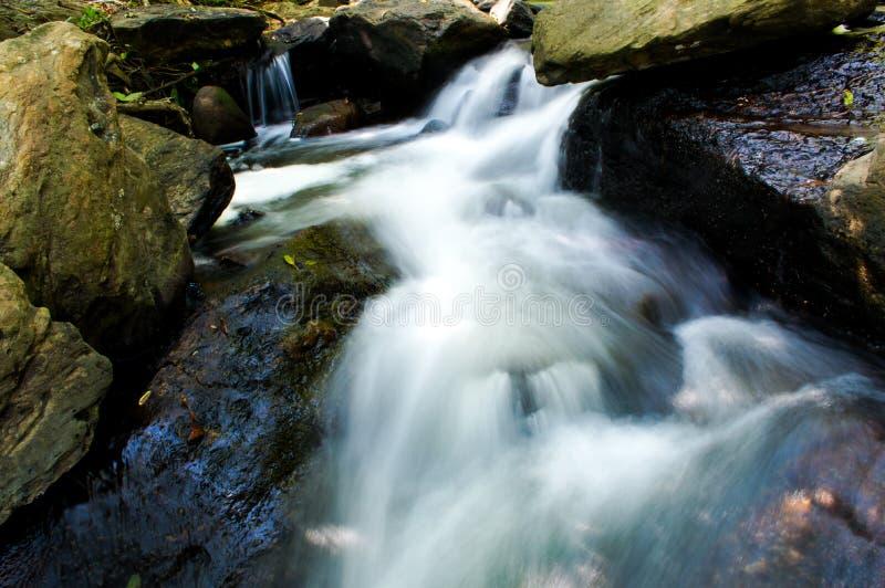 Een stroom van water stock afbeelding
