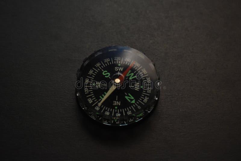 Een stuk speelgoed kompas royalty-vrije stock foto