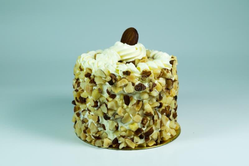 Een stuk van cake royalty-vrije stock fotografie