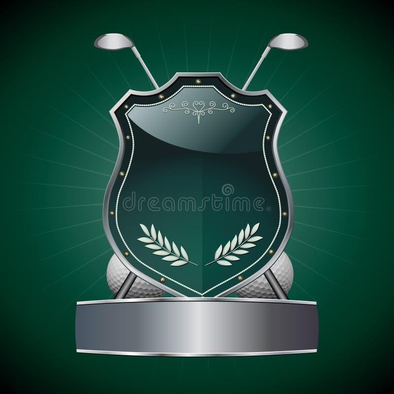 Het Schild van het golf stock foto's