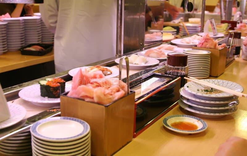 In een sushistaaf stock fotografie