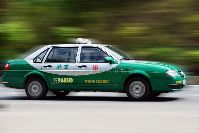 Een taxi stock afbeelding