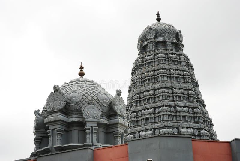 Een Temle in Haridwar stock afbeelding