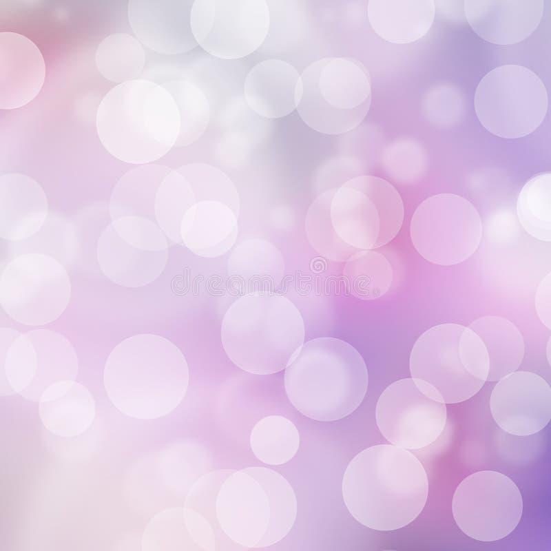 Een textuur, abstracte achtergrond is kleurrijk bokehlicht van zon vector illustratie