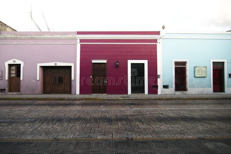 Een traditioneel huis in Merida royalty-vrije stock afbeelding