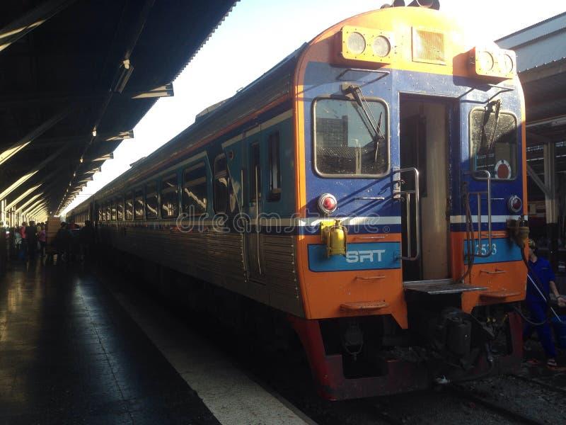 Een trein stock afbeeldingen