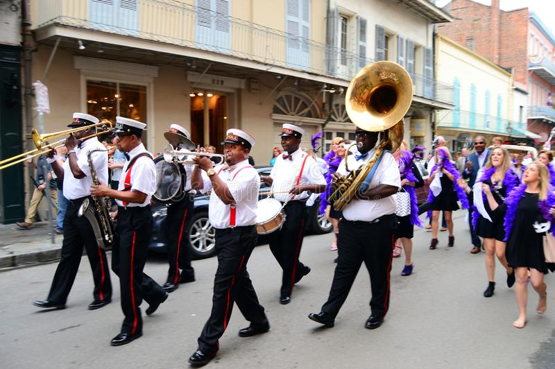 Een Tweede Lijn in New Orleans stock foto