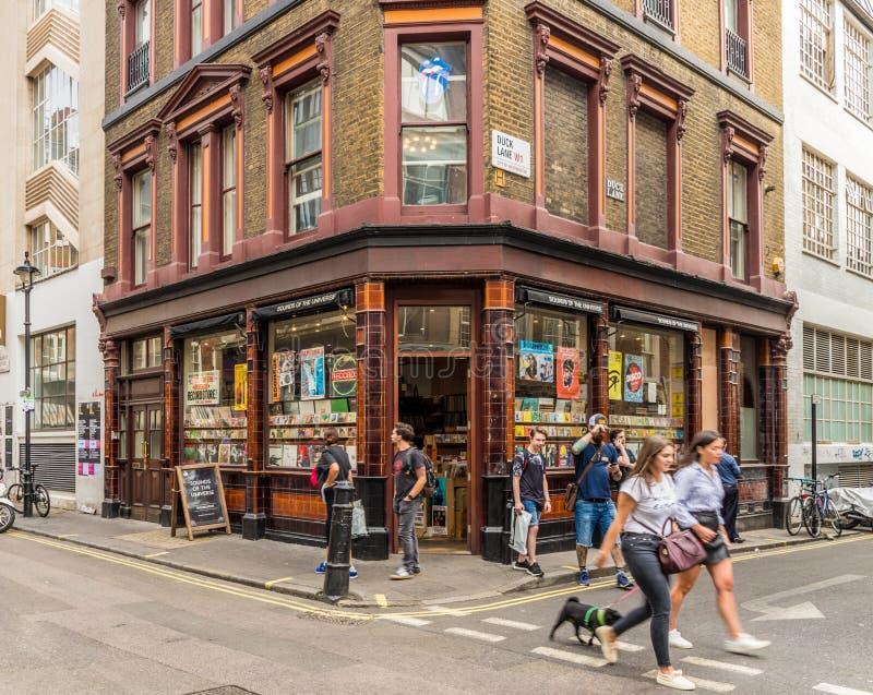 Een typische mening in Londen stock fotografie