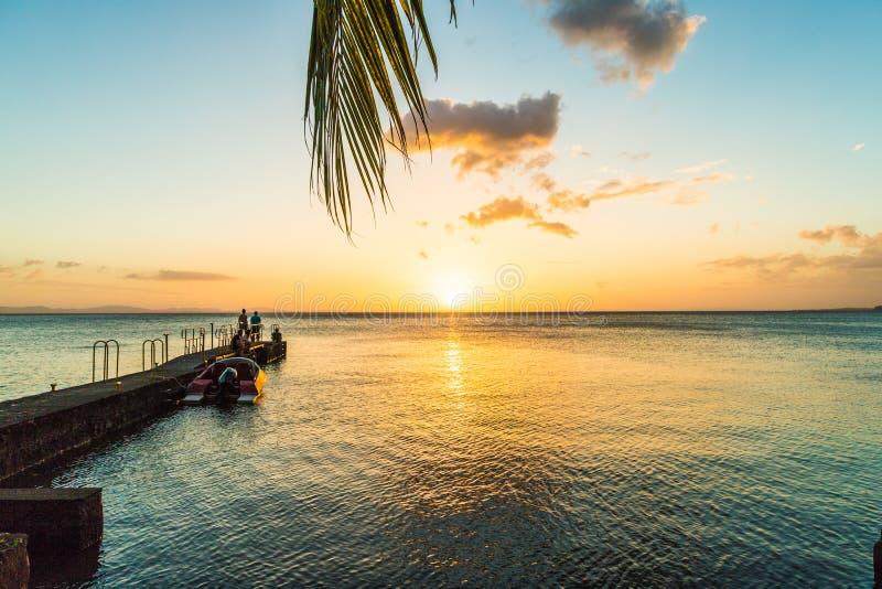 Een typische mening over meer Nicaragua op Ometepe in Nicaragua stock afbeelding