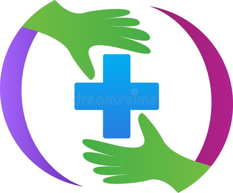 Het teken van de eerste hulp stock illustratie