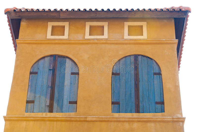 Een venster stock afbeelding
