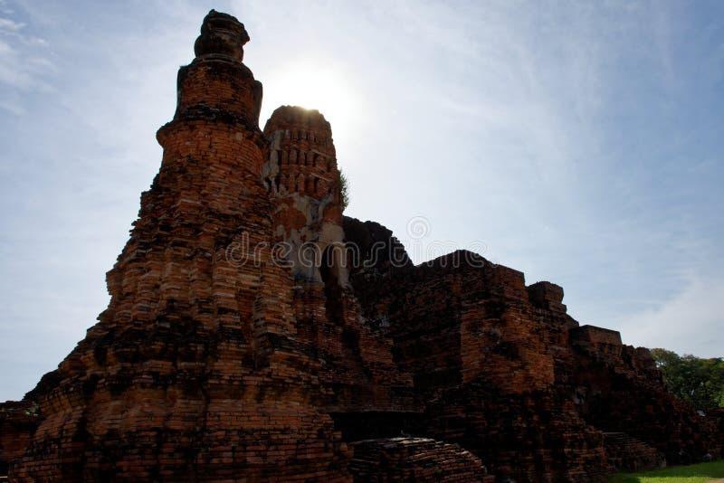 Een verbazingwekkende pagode royalty-vrije stock foto