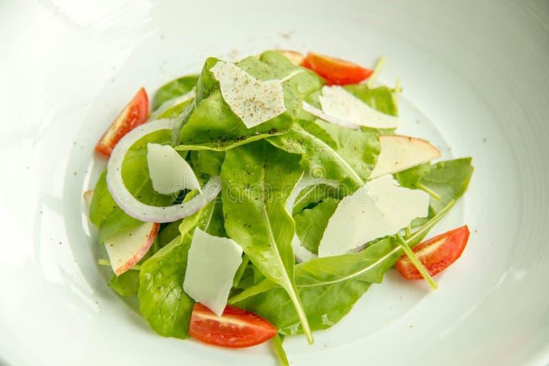 Een verse groentesalade stock foto