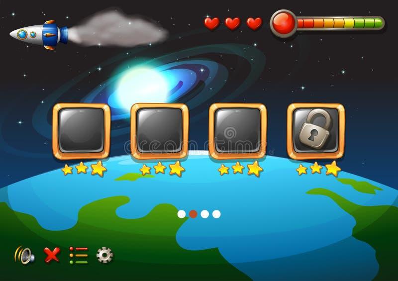 Een videospelletje vector illustratie