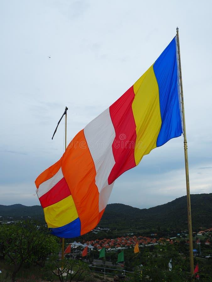 een vlag royalty-vrije stock foto's