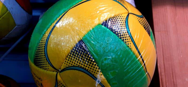 Een voetbalwedstrijd voor spelers stock afbeeldingen