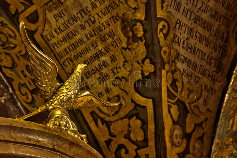 De heilige Vogel van het Grafgewelf stock afbeeldingen
