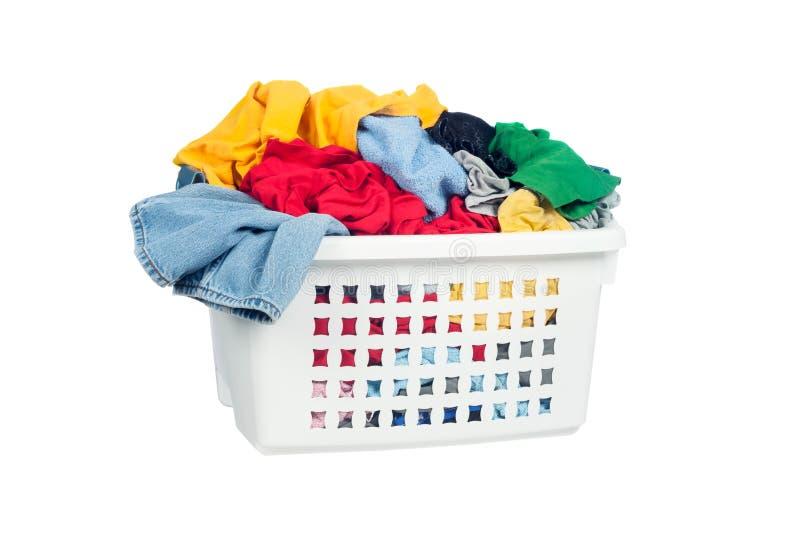 Vuile wasserij royalty-vrije stock afbeeldingen