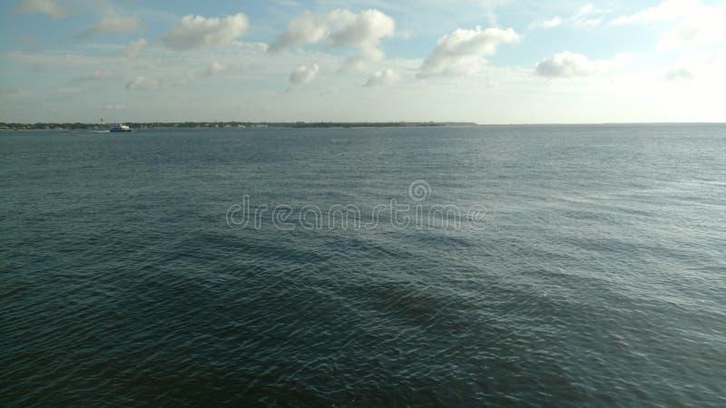 Een Waterige Horizon stock foto's