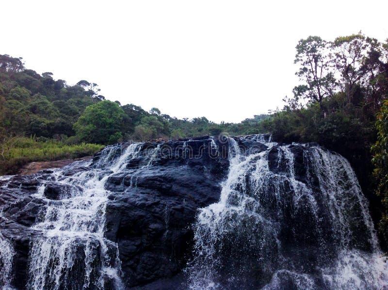 Een waterval royalty-vrije stock afbeelding