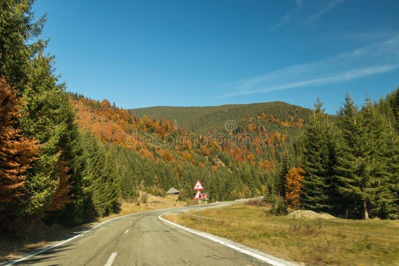 Een wegreis aan Roemenië royalty-vrije stock afbeeldingen