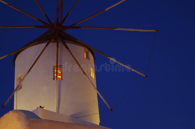 Een windmolen stock afbeelding