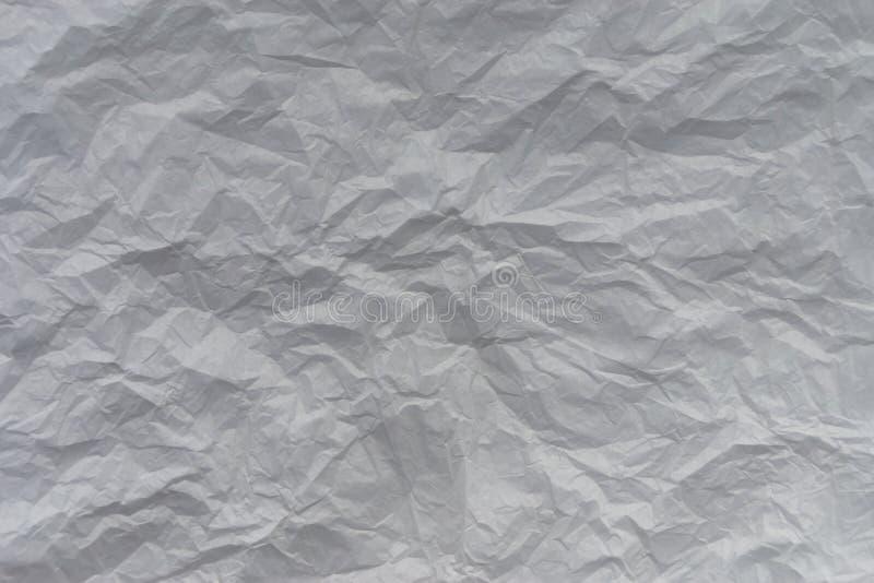 Een wit, gespleten vel van de achtergrond van de papiertextuur voor een blog, vlog of plaats stock foto