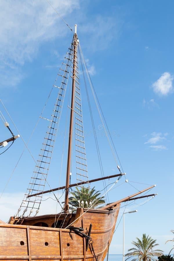 Een Zeemuseum in Santa Cruz de La Palma royalty-vrije stock foto