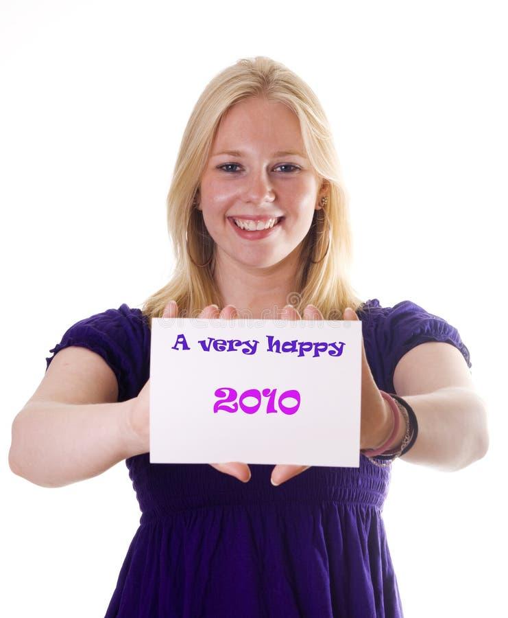 Download Een zeer gelukkige 2020 stock foto. Afbeelding bestaande uit modern - 10782632