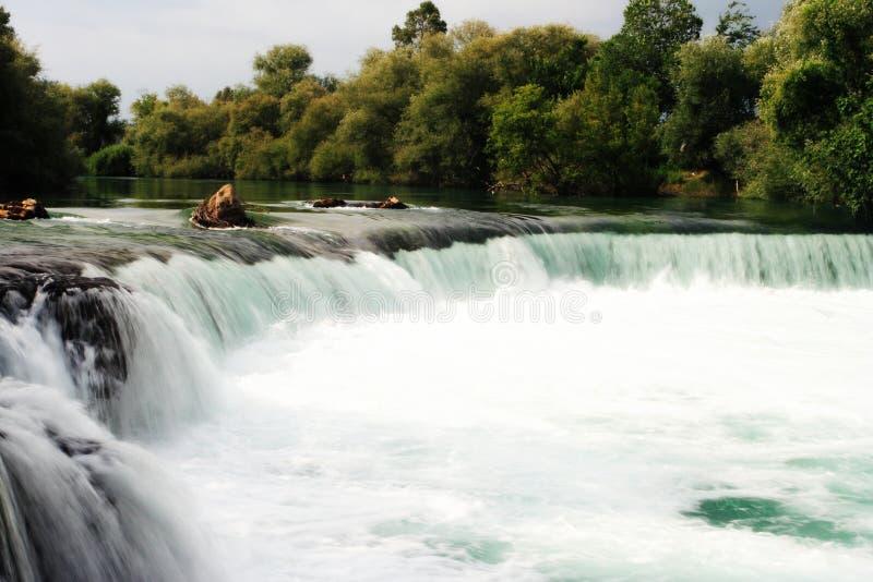 Een zijdeachtige waterval royalty-vrije stock afbeeldingen