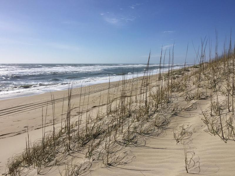 Een zonnige dag bij het strand royalty-vrije stock fotografie