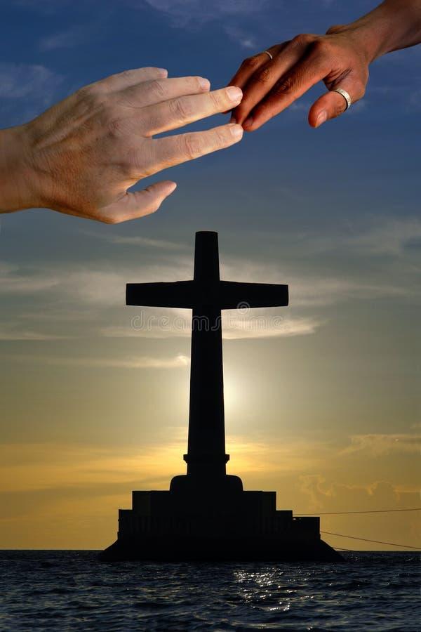 Eenheid in Christus stock foto's
