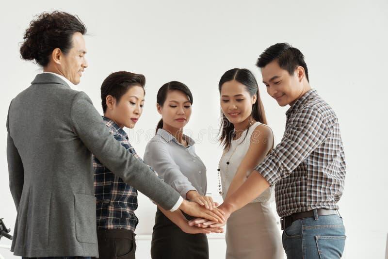Eenheid en samenwerking royalty-vrije stock foto's