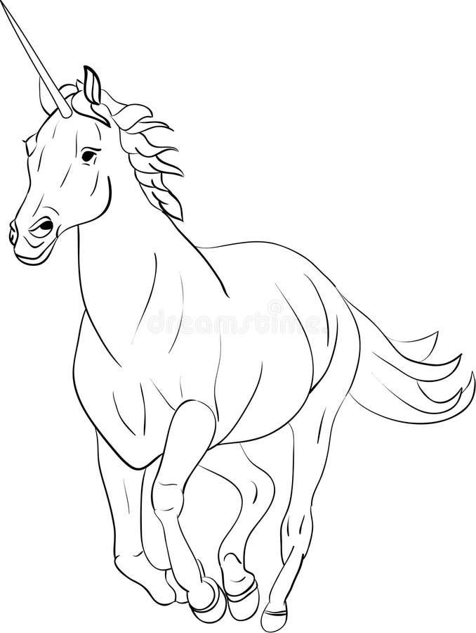Eenhoorn royalty-vrije illustratie