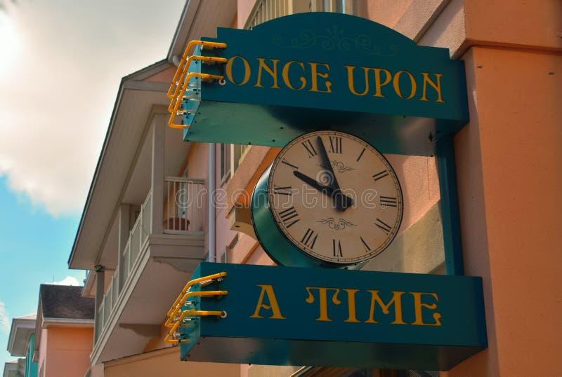 Eens Klok in Vieringsstad royalty-vrije stock afbeelding
