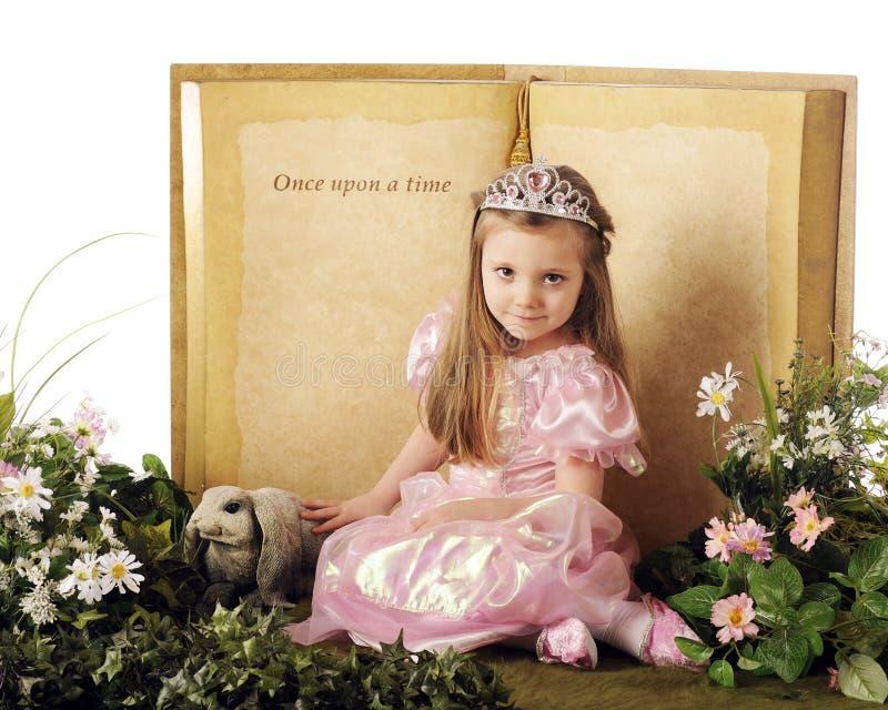 Eens op een Prinses stock foto