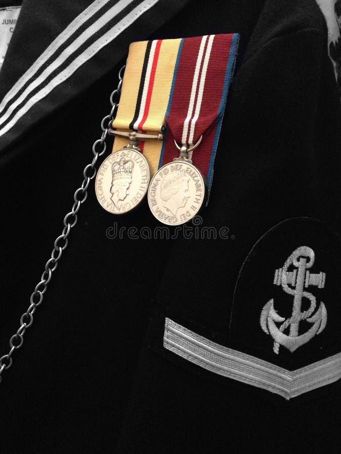 Eenvormige marine royalty-vrije stock foto