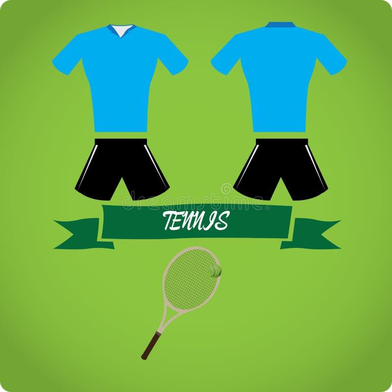 Eenvormige sport royalty-vrije illustratie