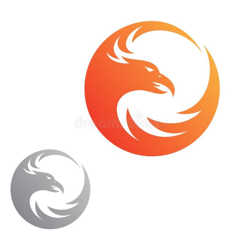 Eenvoudig abstract Eagle-brand vectorpictogram voor grafische ontwerp, Web en app vector illustratie