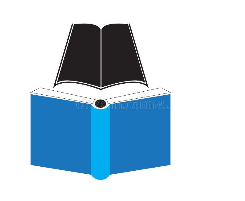 EENVOUDIG BOEKpictogram, GESCHIKT VOOR ONDERWIJSillustratie stock illustratie