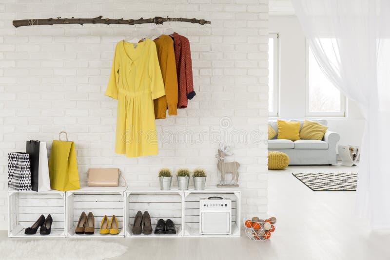 Eenvoudig en minimalistisch maar zo in! royalty-vrije stock foto's