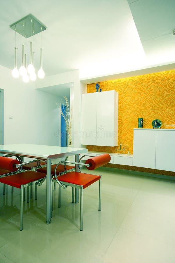 Eenvoudig en schoon huis stock afbeeldingen