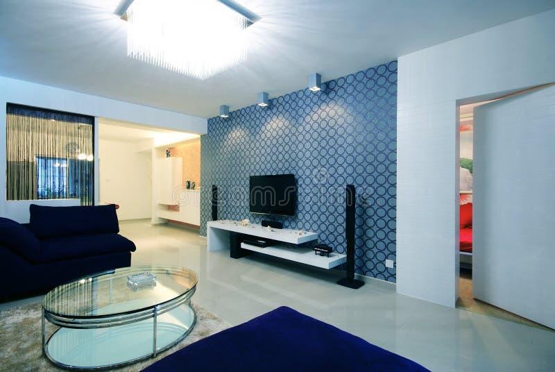 Eenvoudig en schoon huis royalty-vrije stock afbeeldingen